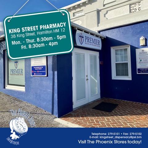 New Dispensary – King Street Pharmacy